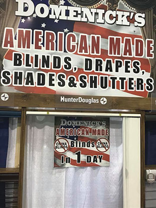 Domenick's American Made Blinds